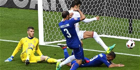 España, actual bicampeón, quedó eliminada de la Eurocopa