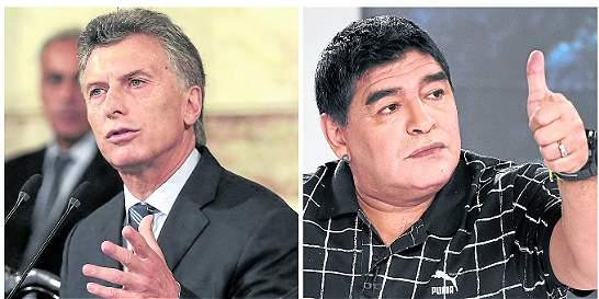 Macri y Maradona piden a Messi que se quede en selección de Argentina
