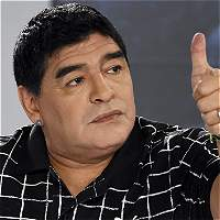 Maradona se aleja de la Argentina de Messi: 'Le ganamos a Alemania'