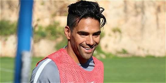 ¡Volvió el Tigre!: Falcao anotó gol en amistoso con Mónaco
