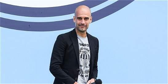Guardiola fue presentado como nuevo DT del Manchester City