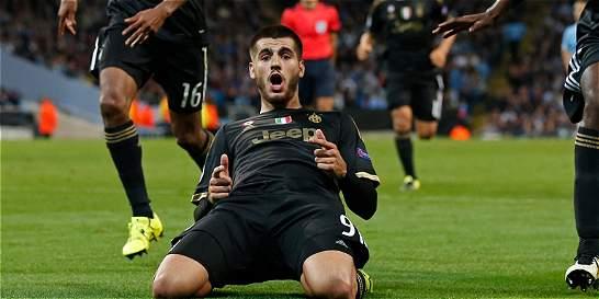 Juventus le hace una sentida despedida a Álvaro Morata