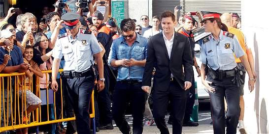 El Barcelona respalda a Messi y considera que ya arregló su situación