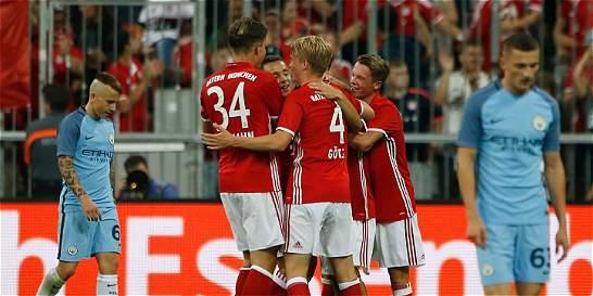 Bayern Múnich venció 1-0 al Manchester City en amistoso internacional