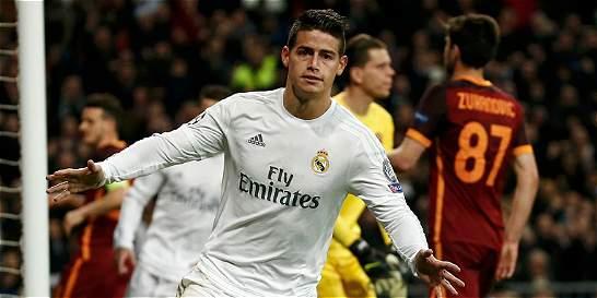 James Rodríguez quiere 'jugar más' en el Real Madrid