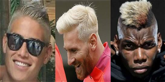 Messi, James, Pogba; los 'monos' están de moda en el fútbol