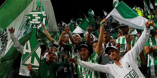 En Medellín se escuchó un grito libertador: '¡Verde Campeón!'