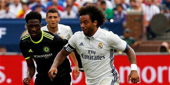 Real Madrid, sin James, ganó 3-2 contra Chelsea