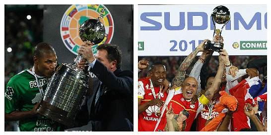 El fútbol de Colombia, en ascenso con las copas internacionales