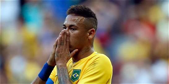 Brasil decepcionó en el arranque olímpico: empató con Sudáfrica
