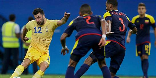 Colombia empató 2-2 con Suecia en su debut en los Juegos Olímpicos