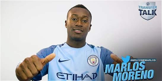 Oficial: Marlos Moreno, nuevo jugador del Manchester City