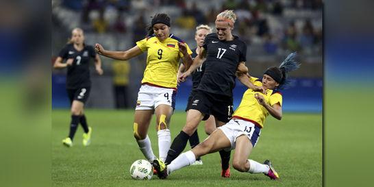 Selección Colombia femenina perdió 1-0 contra Nueva Zelanda