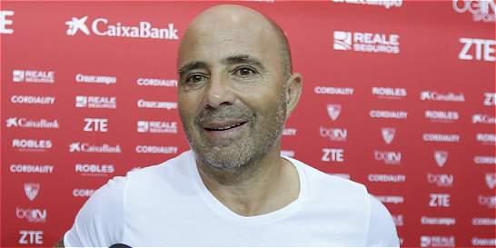 'Queremos jugarle de igual a igual al Real Madrid': Sampaoli