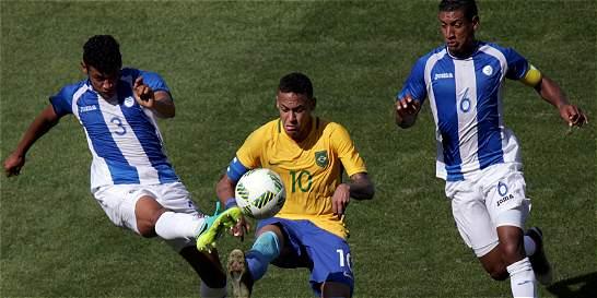 Brasil derrotó 6-0 a la Honduras de Jorge Luis Pinto