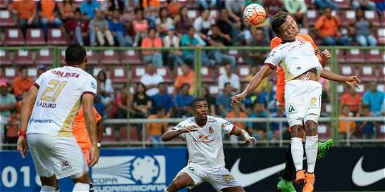 Tolima perdió 1-0 con La Guaira y quedó eliminado de la Suramericana