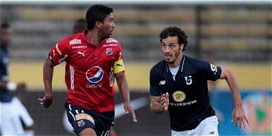 Medellín derrotó 1-0 a Catolica de Ecuador en la Copa Suramericana