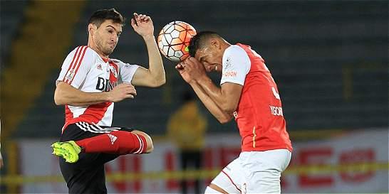 En un partido con pocas emociones, Santa Fe empató 0-0 con River Plate