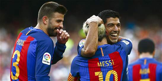 Barcelona goleó 6-2 al Betis en su debut en la Liga de España
