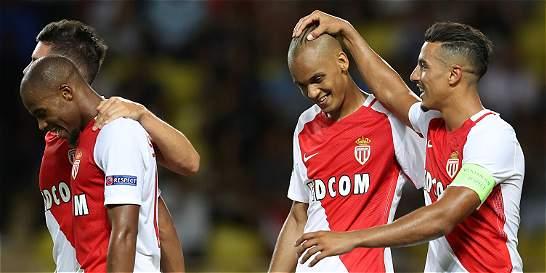 Mónaco, sin Falcao, venció 1-0 a Villarreal y sigue en la Champions