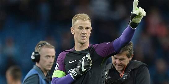 Manchester City le dio la despedida a Hart y clasificó a la Champions
