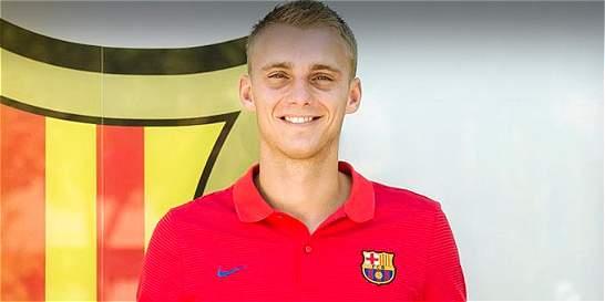 El arquero Jasper Cillessen, nuevo fichaje del Barcelona