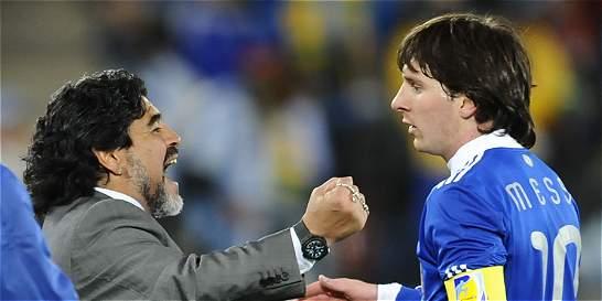 'No sé si el retiro de Messi fue un montaje': Diego Maradona