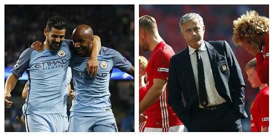 Los equipos de Manchester buscarán seguir en el liderato de la Premier
