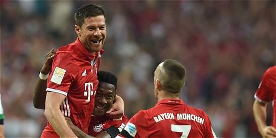 Bayern Múnich le ganó 6-0 al Bremen en el inicio de la Bundesliga