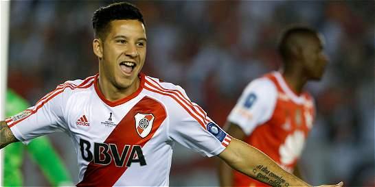 River Plate, campeón de la Recopa Suramericana; venció 2-1 a Santa Fe