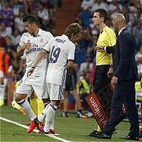 Real Madrid venció 2-1 al Celta; James jugó 20 minutos