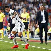 'James se va a quedar en el Real Madrid': Zidane