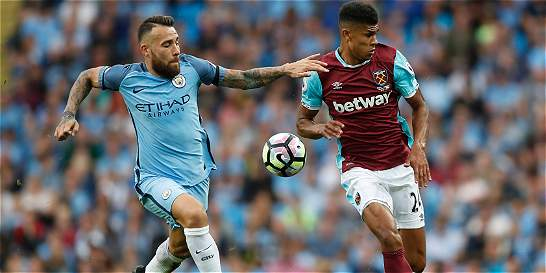 Manchester City derrotó 3-1 a West Ham y es líder de la Premier