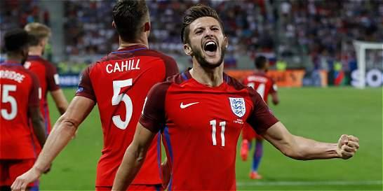 Inglaterra, con un gol agónico, derrotó 0-1 a Eslovaquia