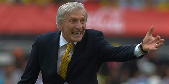 'Es bueno que respeten a Colombia y a sus jugadores': Pékerman