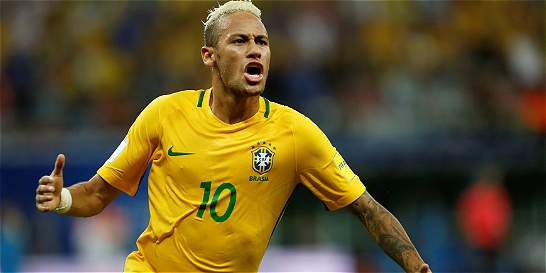 Con gol de Neymar, Brasil venció 2-1 a Colombia