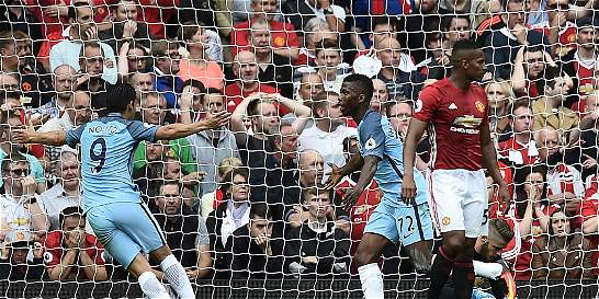 City sometió al United en el derbi de Manchester: le ganó 1-2