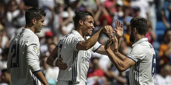 Real Madrid, sin James Rodríguez, goleó 5-2 a Osasuna en la Liga