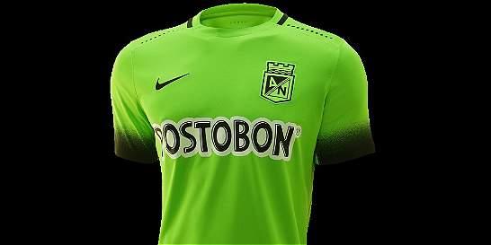 Atlético Nacional presentó su tercera camiseta