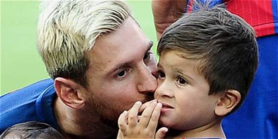 Hijos de Messi, Suárez y Piqué entrenaron por primera vez en el Barça