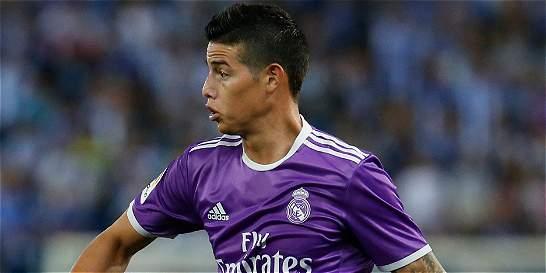 James jugó su primer partido completo de la temporada con el R. Madrid