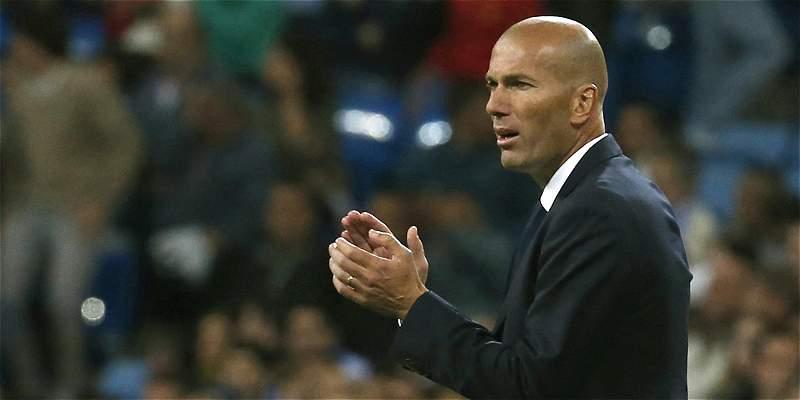 Zinedine Zidane no se refirió a la lesión de James