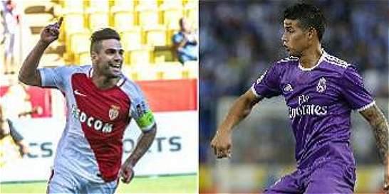 James y Falcao, a seguir la racha goleadora en Europa