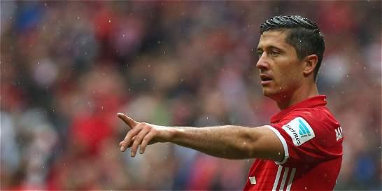 Bayern quiere ampliar el controtato de Lewandowski hasta 2021
