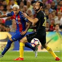 En un intenso partido, Barcelona empató 1-1 con Atlético de Madrid