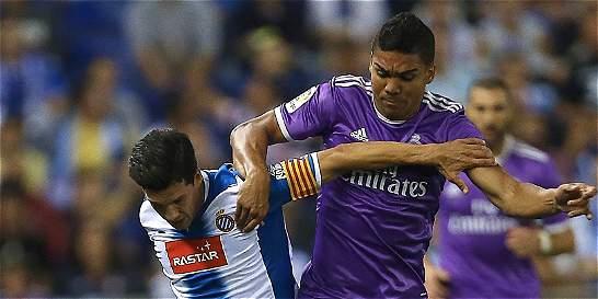 Casemiro sufrió una fisura del peroné izquierdo