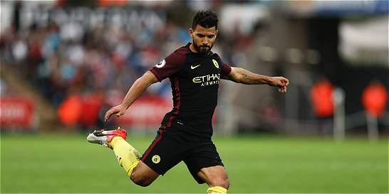 Manchester City, 6 partidos y 6 victorias: le ganó 1-3 a Swansea