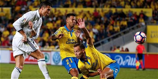 Sin James Rodríguez, Real Madrid empató 2-2 con Las Palmas