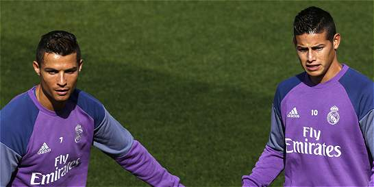 James Rodríguez, dentro de los convocados para enfrentar al Dortmund