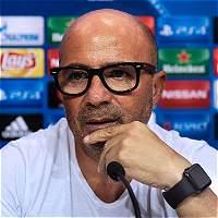 Sampaoli quiere que Sevilla tenga definición y precisión frente a Lyon